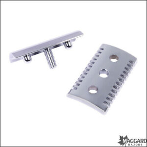 Safety Razor Replacement Head Maggard Razors V2 Open Comb, Chrome