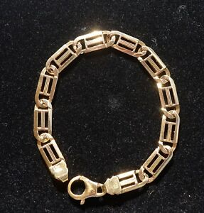 9ct Yellow Gold Bracelet Italy