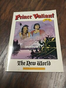 1991 PRINCE VALIANT • Vol 12 The New World • H FOSTER • Fantagraphics 1st Print