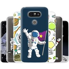 Dessana Astronaut TPU Silicone Protective Cover Phone Case Cover For LG
