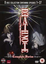 DEATH NOTE Anime: Episode 1-37 Complete Series Collection 9 Disc DVD Box Set NEW