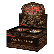 Rathe Unlimited edición Booster Welcome to Caja-Flesh y Blood Trading Card Game-Nuevo