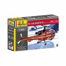 """HEL80289 - Heller 1:72 - Alouette III """"""""Securite Civile"""""""""""