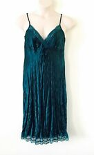 NWOT PLUS SIZE 18 ~ SARA ~ Forest Green Witchy Boho Lace Slip Dress Burlesque
