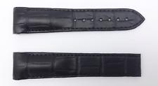 Omega Black Alligator Strap - Genuine - 21mm