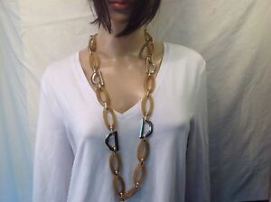 Chico's New Light gold Links / Gold necklace