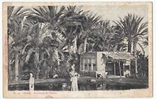Egypt; Suez, Fountain of Moses / Fontaine De Moise PPC, Unposted, UB, c 1900's