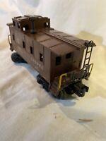Postwar Lionel 6457 Caboose Vintage 1949 No Light Nice Original!O  Model Train
