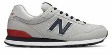 0d2b600bc829d New Balance Men's 515 Shoes Grey With Blue & Red