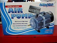 Hydrofarm AAPA110L Active Aqua Air Pump -New