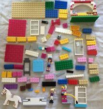 5 LBS POUNDS LEGO FRIENDS LOT MINI-FIGURES ACCESSORIES VEHICLES HORSES