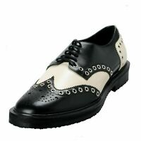 Giuseppe Zanotti Homme Men's Two Tone Leather Lace Up Oxfords Shoes US 9 IT 42