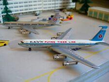 FLYING TIGER-EL-AL-(Usa)-CARGO+Passeggeri-Boeing-707-300-1/500-(2 PZ)-Netmodels-