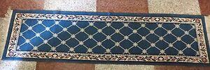 Vintage Woven Handmade Cotton Jute Rug Floor Runner Throw Carpet for Bed front