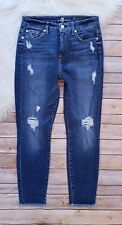 7 for all Mankind The High waist ankle skinny Jeans size 27