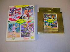 QUATTRO SPORTS 4 (Nintendo NES) Game & Box, No Manual
