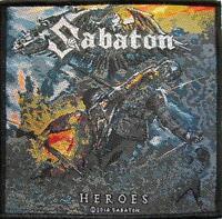 "SABATON AUFNÄHER / PATCH # 6 ""HEROES"""