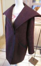 Sublime manteau court en laine bouclette 82% COMPTOIR DES COTONNIERS T 44