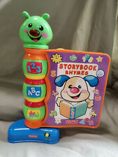 New listing Fisher Price 2002 Laugh & Learn Storybook Rhymes Works