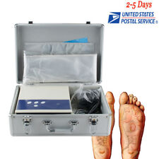 【USA】Professional Ion Cell Ionic Detox Foot Bath Spa Chi Cleanse Machine Beauty