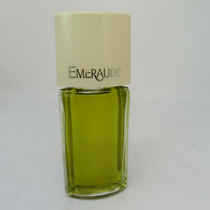 Vintage Coty Emeraude 2.0 oz Woman's Cologne Full Bottle