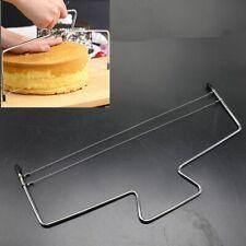 Cake Cutter Leveller Leveler Decorating Wire Slicer Cutting Decorator Tool Steel