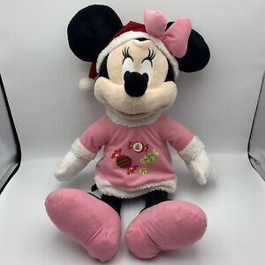 "Disney Dan Dee Collector's Choice Holiday Minnie Mouse 24"" Plush Stuffed Toy B"