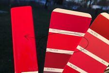 Peinture carrosserie: 0,5 L base à vernir solvant Rouge RAL 3028 prêt à l'emploi