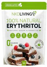 Erythritol Zero Calorie Sweetener by NKD Living 1kg, 2kg and 3kg (Granulated)