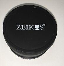 Zeikos Camera Lens 58mm Professional HD DSLR MC AF .45X WIDE ANGLE MACRO