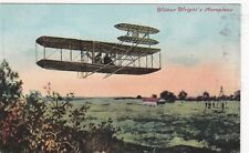 Kappysstamps W4921 Wilbur Wright'S Aeroplane Postacrd Unused