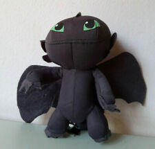DreamWorks Dragons Toothless Black Plush Stuffed Animal Doll Soft Toy