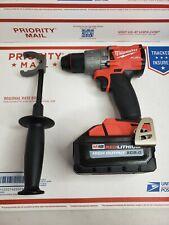 Milwaukee 2804-20 M18 Fuel Hammer Drill  w/ 8.0AH Battery