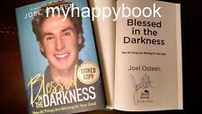 SIGNED Blessed in the Darkness by Joel Osteen, Hardcover, new, autographed