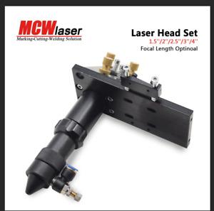 "Co2 Laser Head Mirror  Lens Intgrative Mount Cutter Engraver FL 1.5"" 2"" 2.5"" 3"""