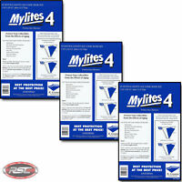 150 - E. GERBER MYLITES 4 SILVER & GOLDEN AGE Mylar Comic Bags Sleeves 775M4