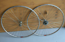 Vintage NOS NEW Shimano 600 EX / Arabesque Mavic tubular wheels wheelset wielen