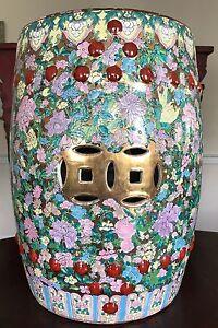 Antique Chinese Porcelain Garden Stool