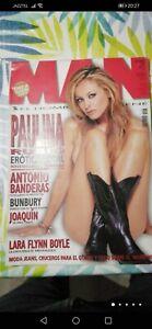 REVISTA MAN PAULINA RUBIO ENTREVISTA BUNBURY 2002
