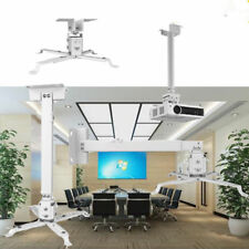 Universal LCD LED Proyector Montaje Soporte de Pared/Techo Extensible Blanco