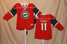 Zach Parise MINNESOTA WILD Reebok NHL sewn JERSEY Youth Large/XL NWT $100 retail