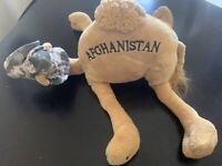 """Vintage Afghanistan Camel """"i Miss You"""" Desert Storm"""