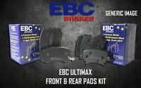 EBC ULTIMAX FRONT + REAR BRAKE PADS KIT SET BRAKING PADS OE QUALITY PADKIT419