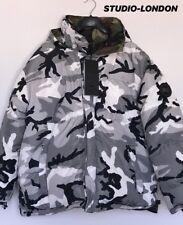 –– X Canada Goose camoglage Reversable Puffer chaqueta de un tamaño RRP £ 2545