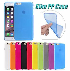 Cover per Iphone 6 6s Custodia Apple Slim Tpu SemiTrasparente Policarbonato
