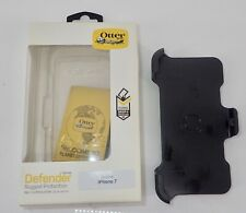 Otter Box Defender Series Case for Apple iPhone 7 Black New in Box