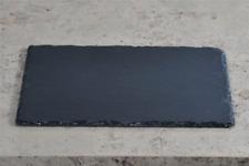 Servierplatte, Schieferplatte, anthrazit schwarz, 40x30cm, rechteckig, Kesper