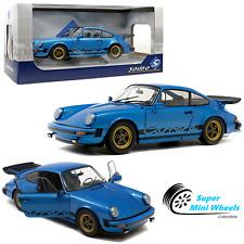 Solido 1:18 - 1984 Porsche 911 Carrera 3.0 Coupe (Minerva Blue) - Diecast Model
