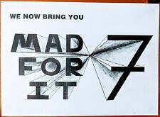 Mad For It 1989 Acid House Rave Flyer