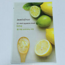 Real Lime Squeeze Mask Sheet Keeping Moisturized and Clean 20ml X1ea